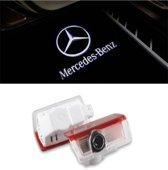 Logo deur projector geschikt voor Mercedes - 2 stuks