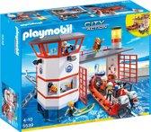 Playmobil Kustwachtcentrale met vuurtoren - 5539