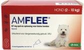 Amflee Spot-on Hond - 67 mg - 6 pipetten