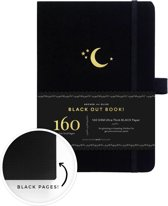 Archer & Olive The Blackout Book A5 Dotted - Crescent Moon