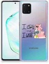 Samsung Galaxy Note 10 Lite Telefoonhoesje met Naam i Can