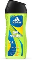 Adidas Get Ready! Douchegel - 250 ml  - Man