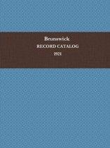 Brunswick Record Catalog 1921