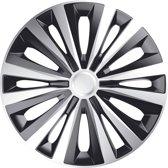 J-Tec Wieldoppen 16 inch Multi zilver/zwart