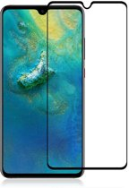 Screenprotector Tempered Glass 2.5D Huawei P30 Lite Transparant Zwart