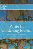Write in Gardening Journal