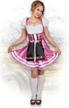 Volwassenenkostuum Helena roze (M)