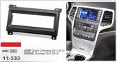 1-DIN JEEP Grand Cherokee 2011-2013 / DODGE Durango 2011-2013 inbouwpaneel Audiovolt 11-333
