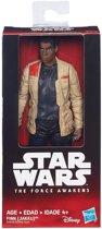 Star Wars Finn Jakku Collectibles Figuur – 14x7x3cm | Star Wars Verzamelfiguur
