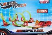 Stuntracebaan Racetrack (inclusief raceauto)