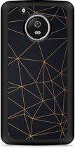 Moto G5 Plus Hardcase Hoesje Luxury