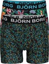 Bjorn Borg boxershorts Essential - 2-pack - Flowers -  Maat S