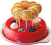 Tovolo Pasteiset - Set van 3 stuks - Ring - Vorm - Steker - Rood