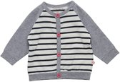 Minymo - baby vest  - YD stripe - roze - Maat 92