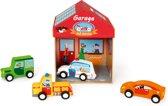Scratch Speeldoos Garage 2-in-1 5-delig