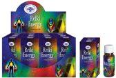 Green Tree Geurolie Reiki Energy (12 potjes)