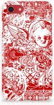 iPhone 8 | 7  Hoesje Design Angel Skull Red