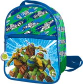 Ninja Turtles - Rugzak  24 cm extra voorvak - Kinderen - Blauw/Groen