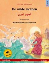 Sefa prentenboeken in twee talen - De wilde zwanen – البجع البري (Nederlands – Arabisch). Tweetalig kinderboek naar een sprookje van Hans Christian Andersen, vanaf 4-5 jaar, met luisterboek als download