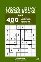 Sudoku Jigsaw Puzzle Books - 400 Easy to Master Puzzles 8x8 (Volume 2)