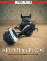 Address Book Large Print