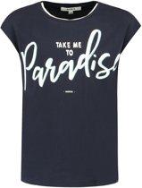 Garcia Meisjes T-Shirt - dark moon - Maat 128/134