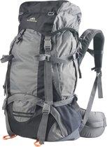 Dutch Mountains - Backpack Maas 65 +10liter - Rugtas Outdoor - Rugventilatie + regenhoes - Lichtgewicht Zwart