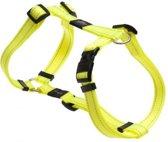 Rogz For Dogs Snake Hondentuig -  Geel - 16 mm x 32-52 cm