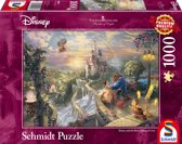 Disney Beauty and the Beast falling in love, 1000 pcs Legpuzzel
