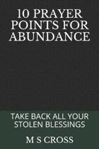 10 Prayer Points for Abundance