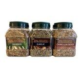 Proefpakket 6 kg BBQ pellets 3 smaken á 2 kg