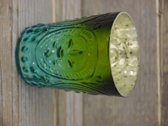 Waxinelichthouder - T.L Houder Turquoise   - kaarsenhouder -  theelichtenhouder- sfeerlicht **3 STUKS**