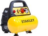 STANLEY Compressor DN200/8/6 - Olievrij - 8 Bar - 6 Liter Tank