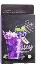 Holika Holika Blueberry Juicy Mask Sheet 5 pcs