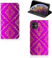 Apple iPhone 11 Telefoon Hoesje Barok Roze