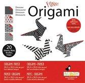 Fridolin Origami Dino Vouwen 20 X 20 Cm 20 Stuks Multicolor