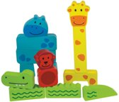 Houten puzzel dieren