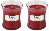 WoodWick® Mini Candle Cinnamon Chai 2 stuks