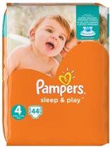 Pampers Luiers - SLEEP & PLAY - Maat 4 - 8 tot 16kg - 44 Stuks