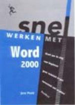 Snel werken met Word 2000