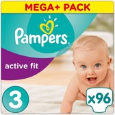 Pampers Active Fit Maat 3 – 96 Luiers
