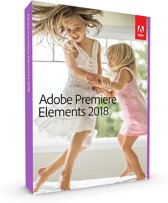 Adobe Premiere Elements 2018 - Nederlands/ Engels/ Frans - Windows