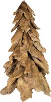 HSM Collection - Kerstboom - 75 cm - teak