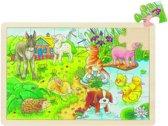 Goki Puzzel Babydieren