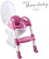 Thermobaby Kiddyloo Toilettrainer Orchidee Roze / Wit