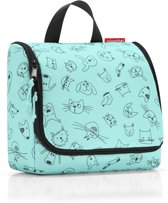 Reisenthel Toiletbag Kids Toilettas - Kind - Ophangen - Polyester - 3 L - Cats&Dogs Mint