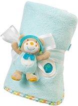 fleece deken en knuffeltje