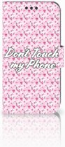 Sony Xperia XA | XA Dual Bookcase Flowers Pink DTMP