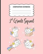 3rd grade Squad Composition Notebook