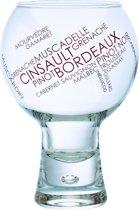 Durobor Alternato Cepage Rode Wijnglazen - 0.41 l - 6 stuks